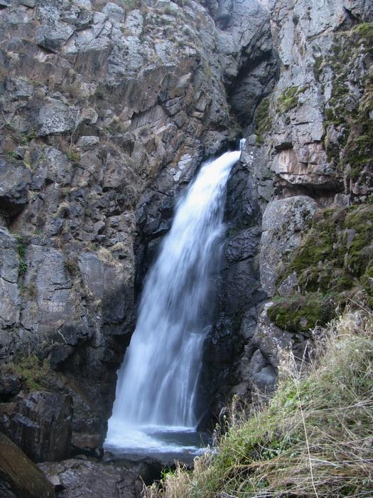 ущелье Фабричное, второй водопад Фабричного