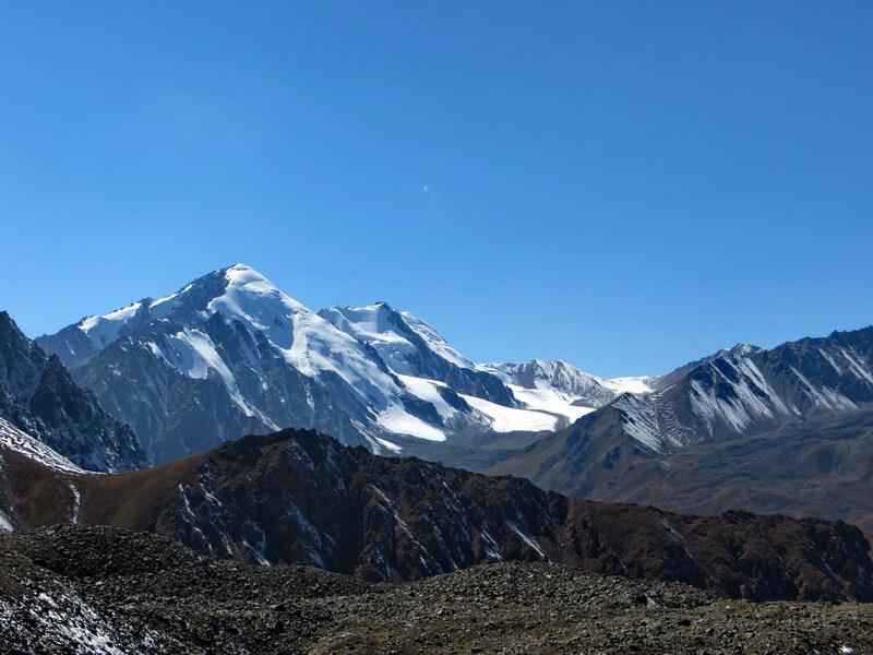 Перевал Туристов со стороны Северцова