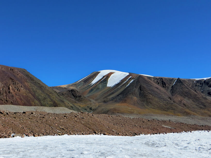 ледник Корженевского, перевал Кокбулак