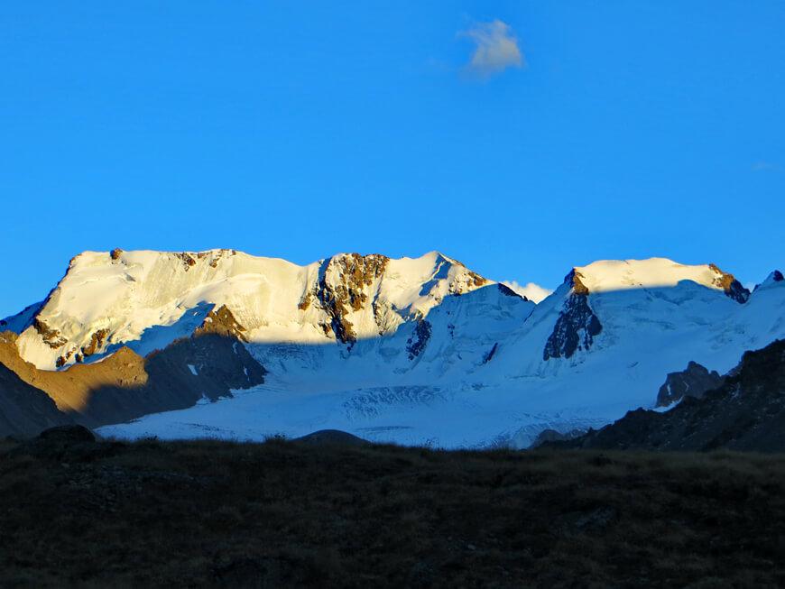 ущелье Иссык, ледник Григорьева