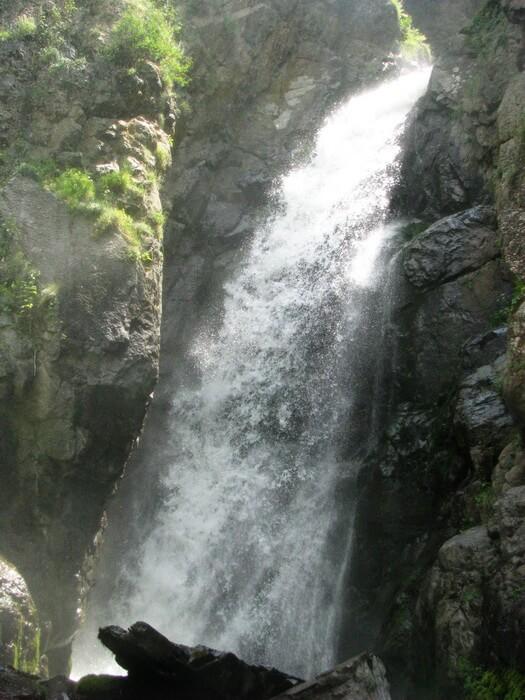 Фабричный, второй водопад