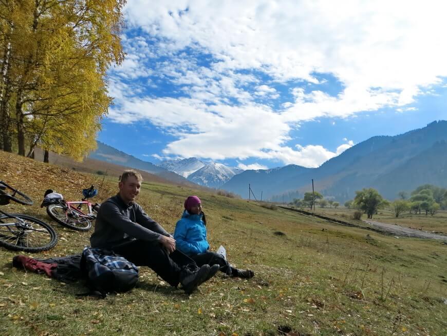 Долгожданный отдых: автор и Камшат