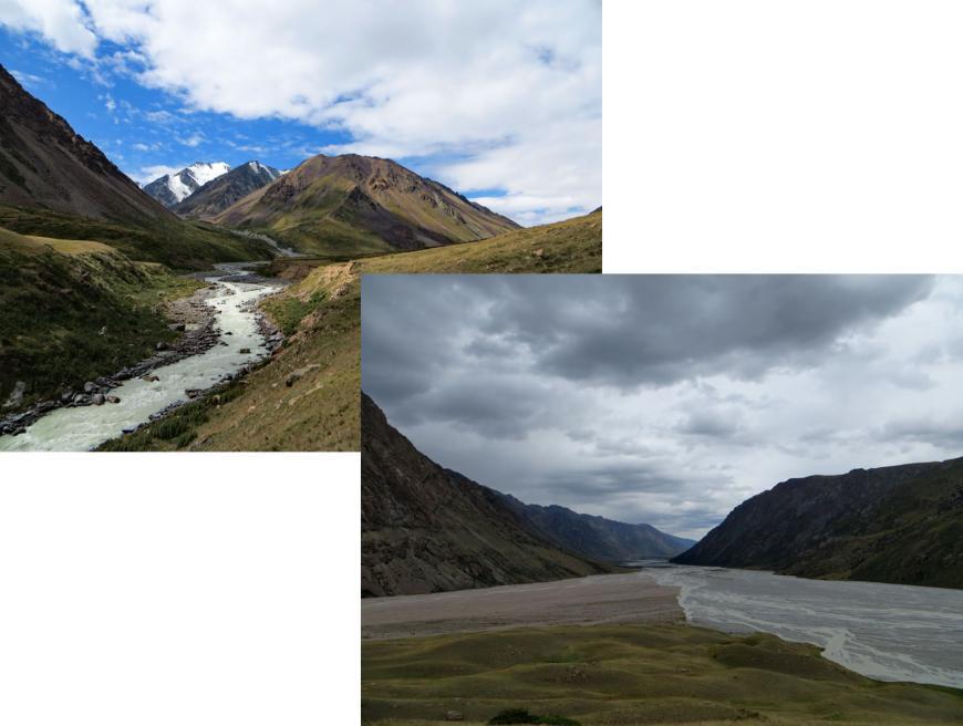 река Чилик