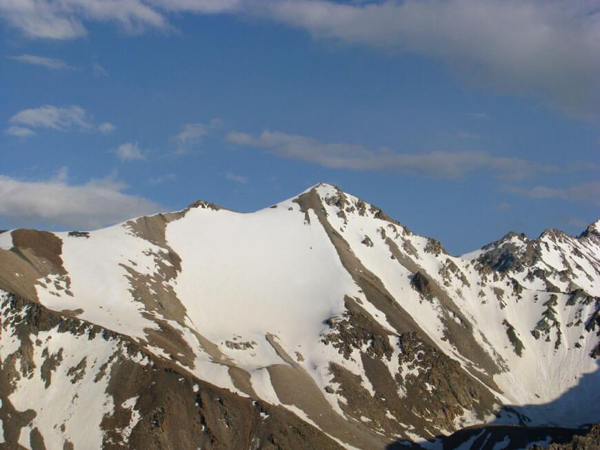 пик Алма-Арасан 4000 м