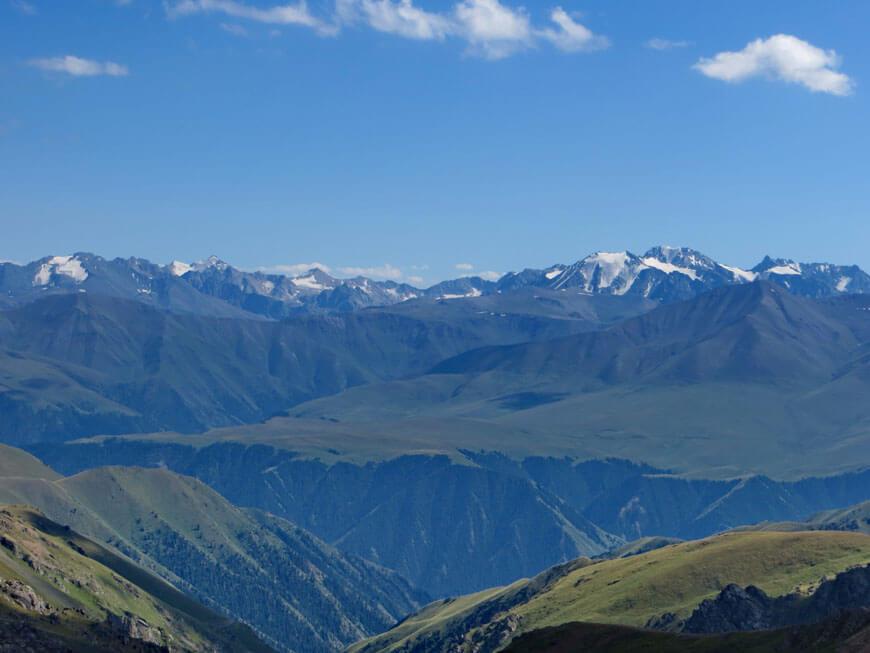 горы Кунгей Алатау