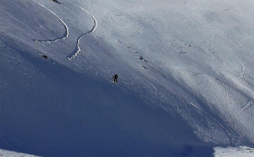 Автор на сноуборде