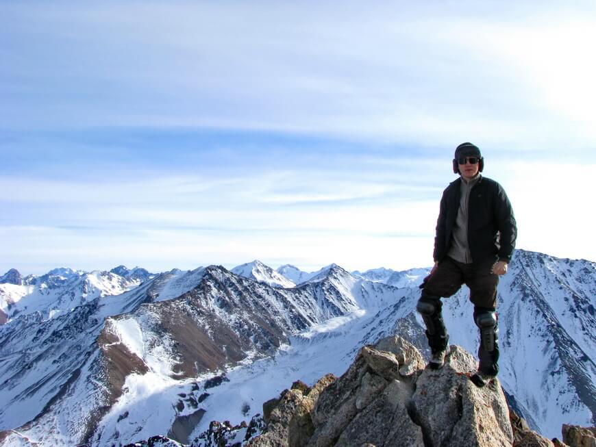 На вершине пика (Данияр)