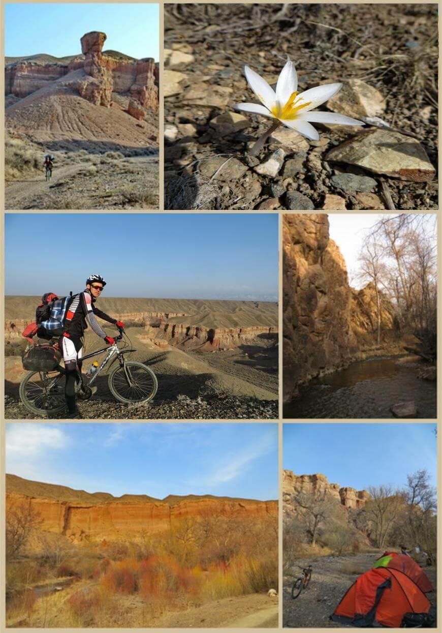 каньон Темирлик, национальный парк Чарын