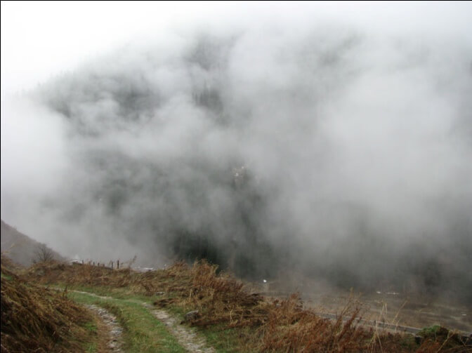 Японская дорога, Большое Алматинское ущелье