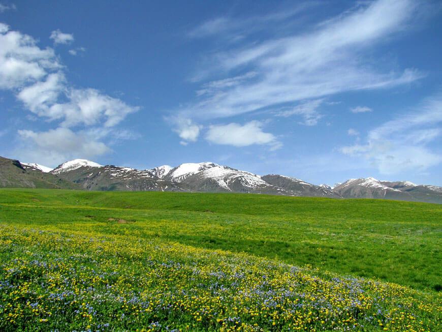 Донжайляу, Тургеньское ущелье