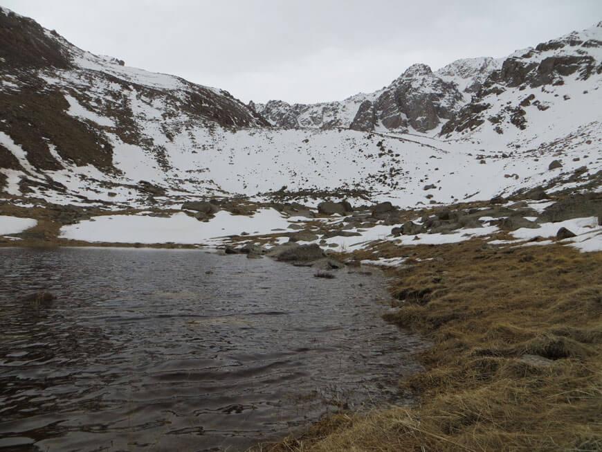 Озеро на альпийских лугах, Каскелен