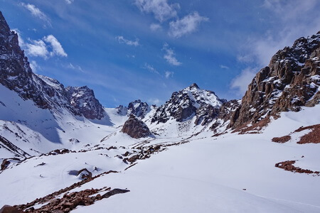 ski tour Almaty, Bogdanovich glacier