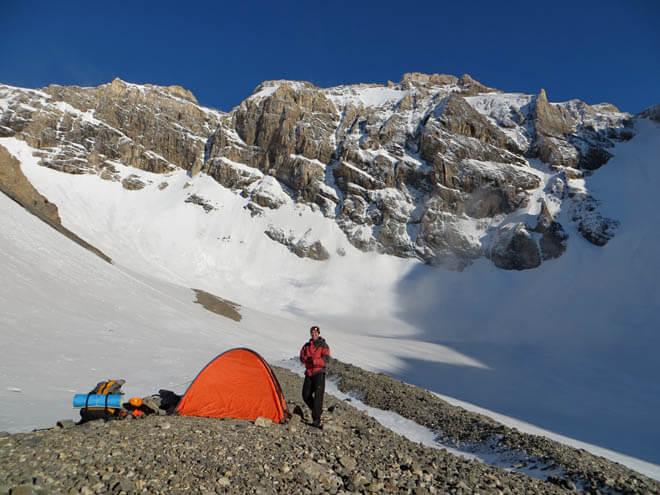 Отличные места. Сзади пик Чимкент 4000 м