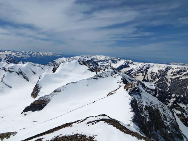 Угамский хребет, вершины
