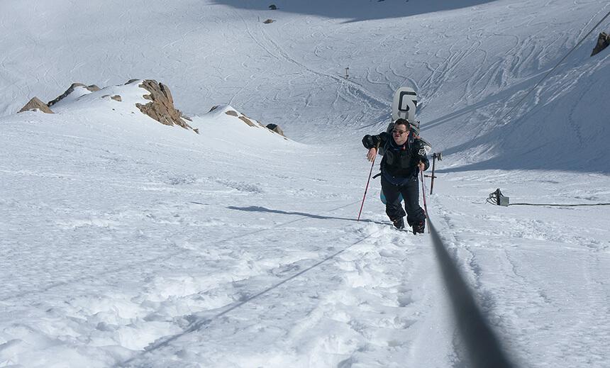 Космостанция сноубордист