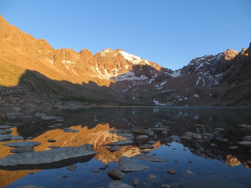 Казачьи озера, Каскеленское ущелье