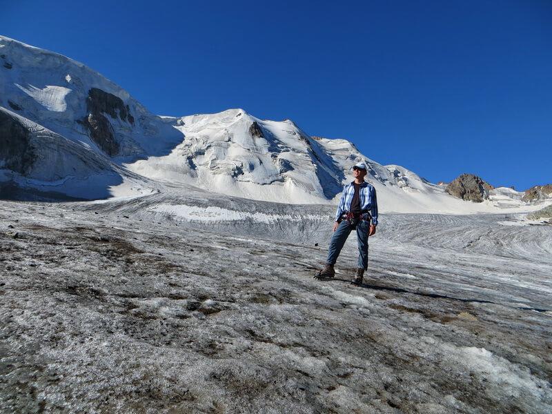 ледник Горного Института, ущелье Тургень