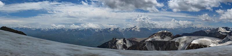 горный хребет Кунгей Алатау
