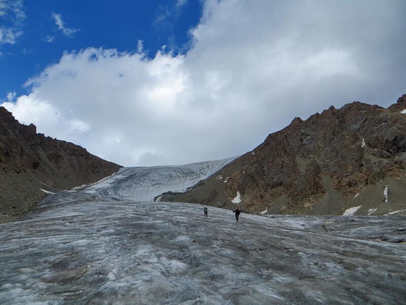 Желькарагай, перевал Тургень 4190
