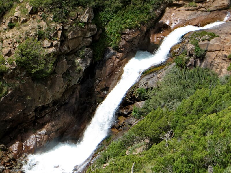Водопад в Желькарагае