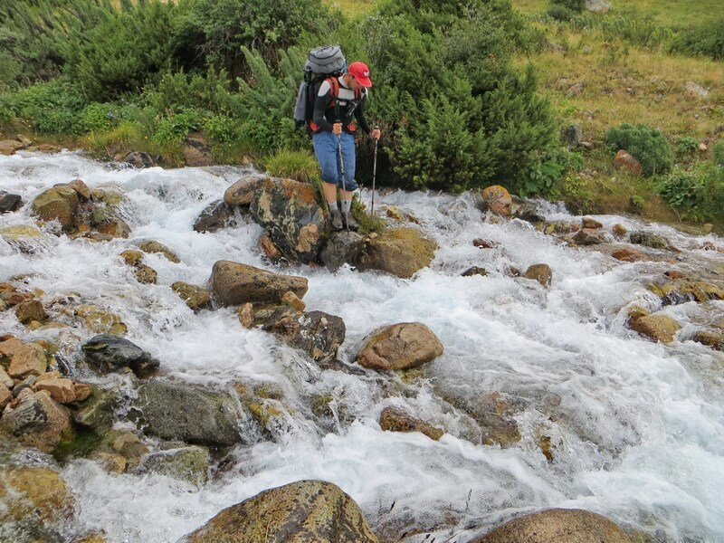 река Тамшы, долина Чилик