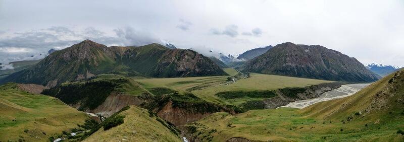 река Кайракты, долина Чилик