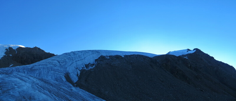 ледник Кошбулак, пик 25 лет КазССР