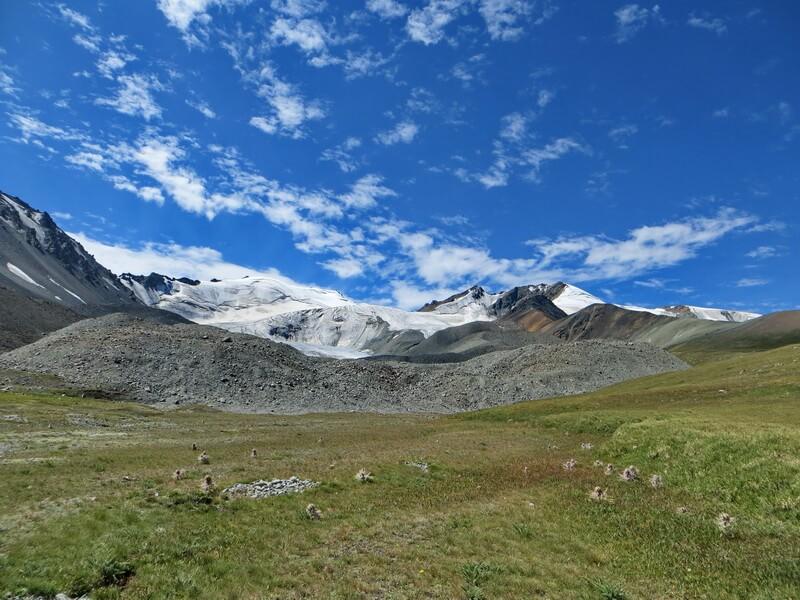 ледник №231, Чон-Тургень