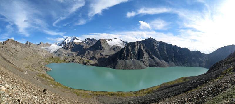 озеро Алакёль, Терскей Алатау, Киргизия