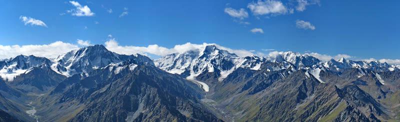 горы Терскей Алатау