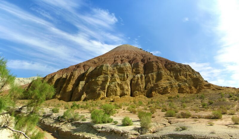 Алтын Емель, меловые горы Актау