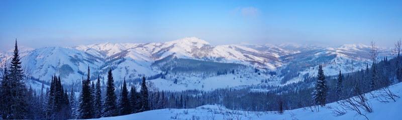 фрирайд Алтайские Альпы