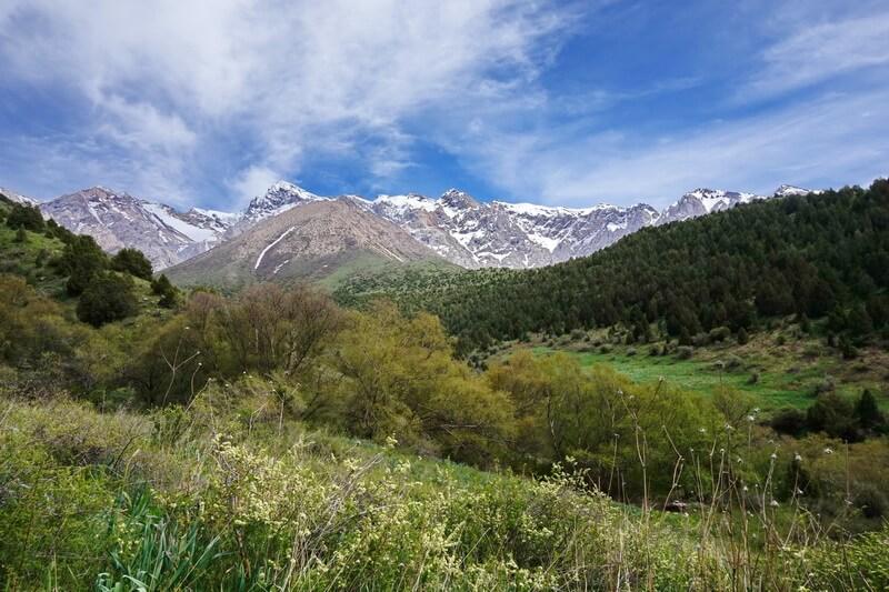 ущелье Сазан-Ата, trekking Shymkent