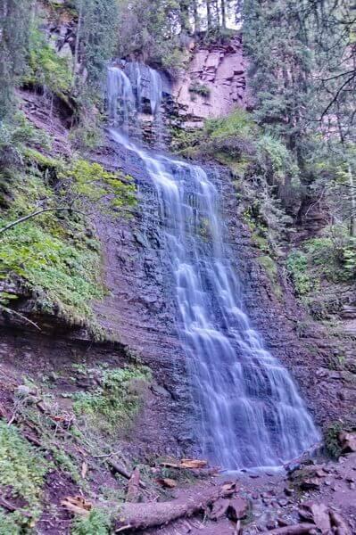 Водопад Девичьи Косы, ущелье Жетыогуз