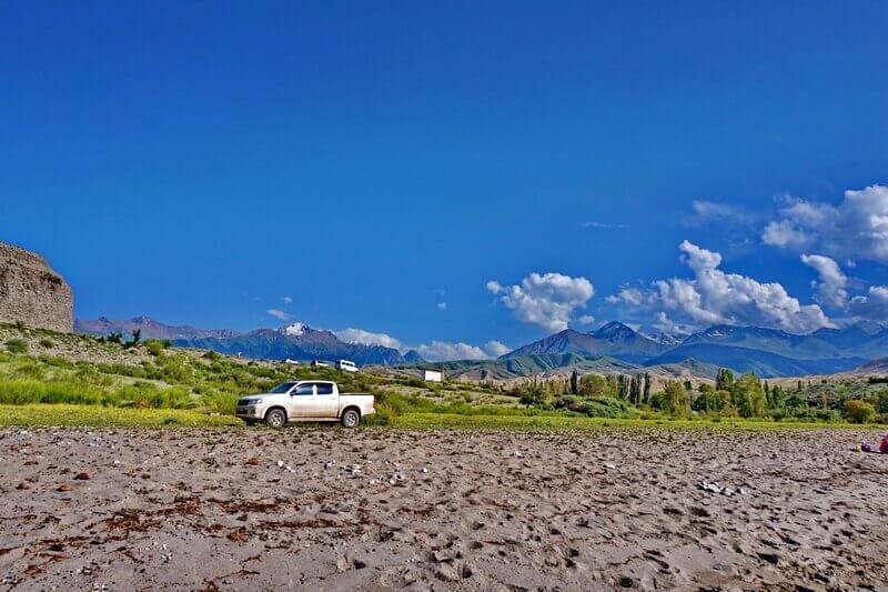 Тамга, озеро Иссык-Куль