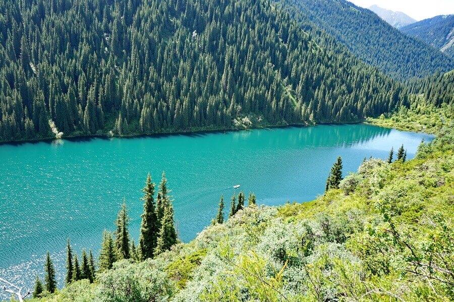 Кольсайские озера, горный поход