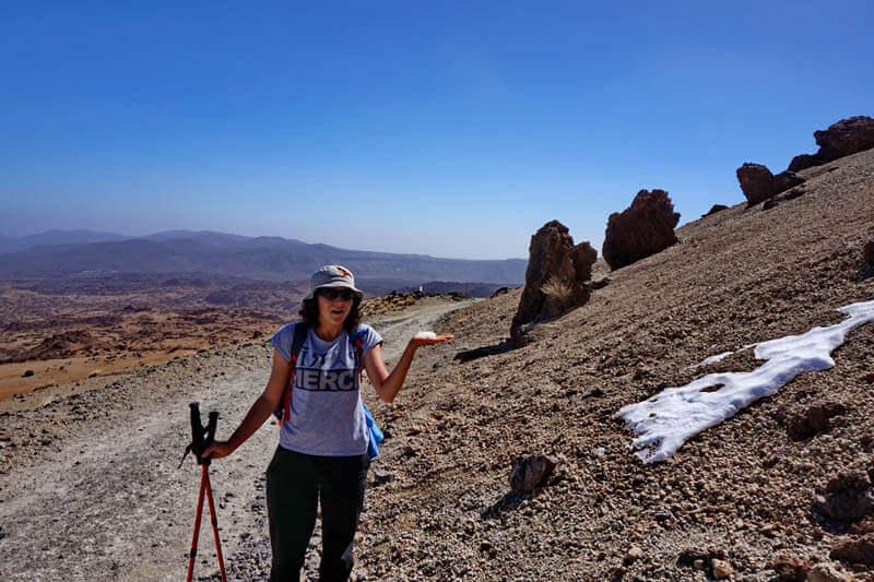 восхождение на вулкан Тейде