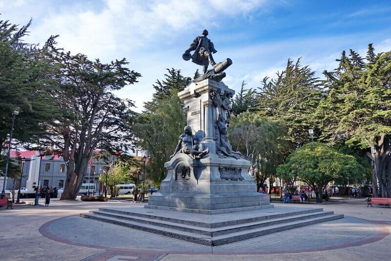 Памятник Фернану Магеллану, Пунта-Аренас
