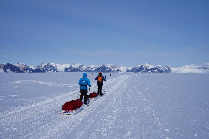 ледник Юнион Глетчер, Union Glacier