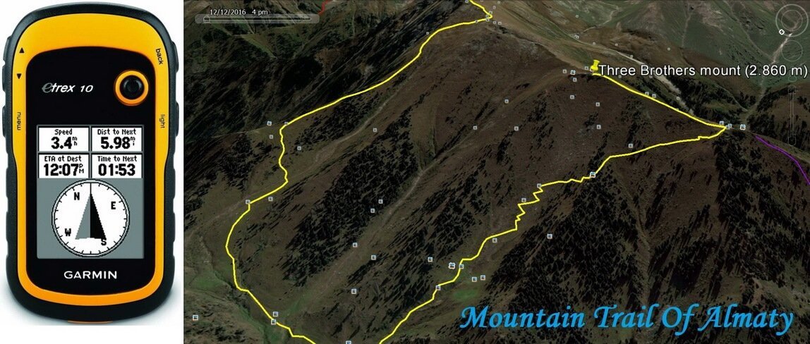 mountain trails of almaty
