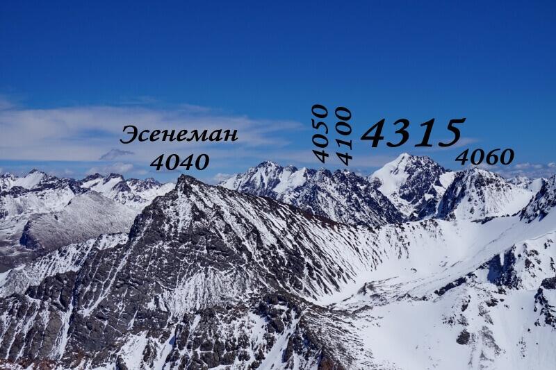 Вершины Аспары