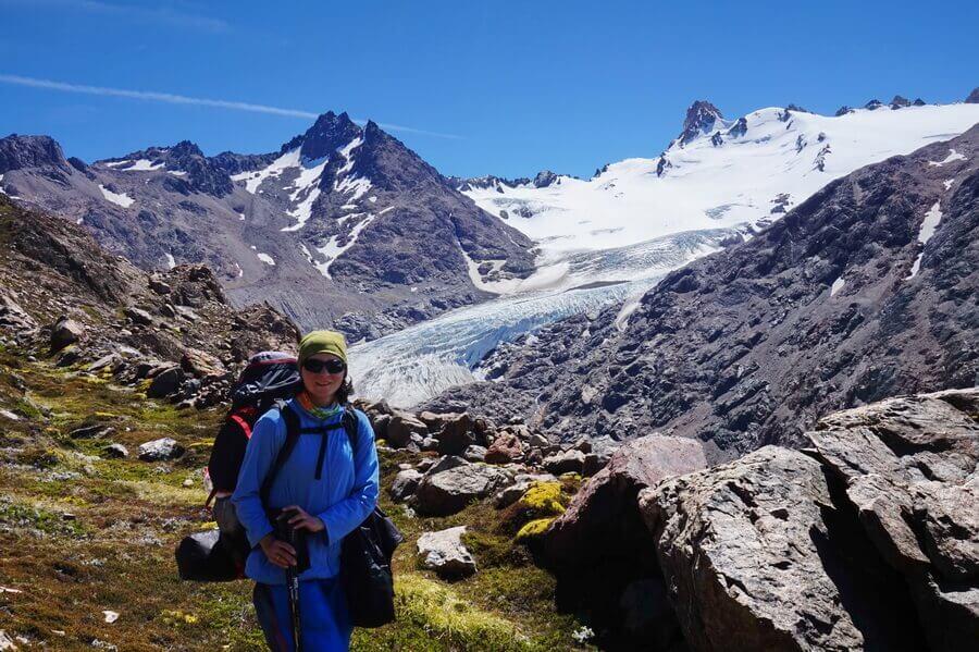 поход по Патагонии, перевал Дель Вьенто