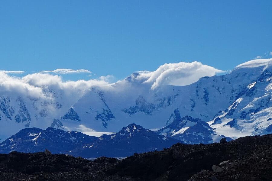поход по Патагонии, ледовые поля южной патагонии