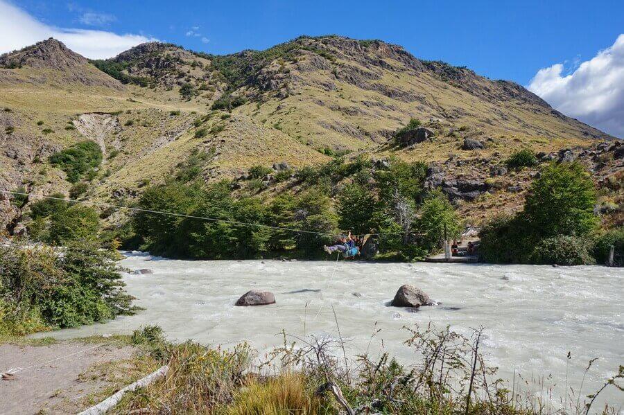 поход по Патагонии, озеро Вьедма