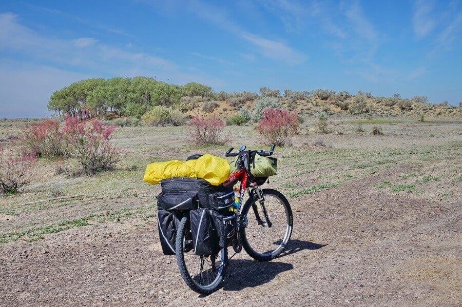 велопоход по Алматинской области