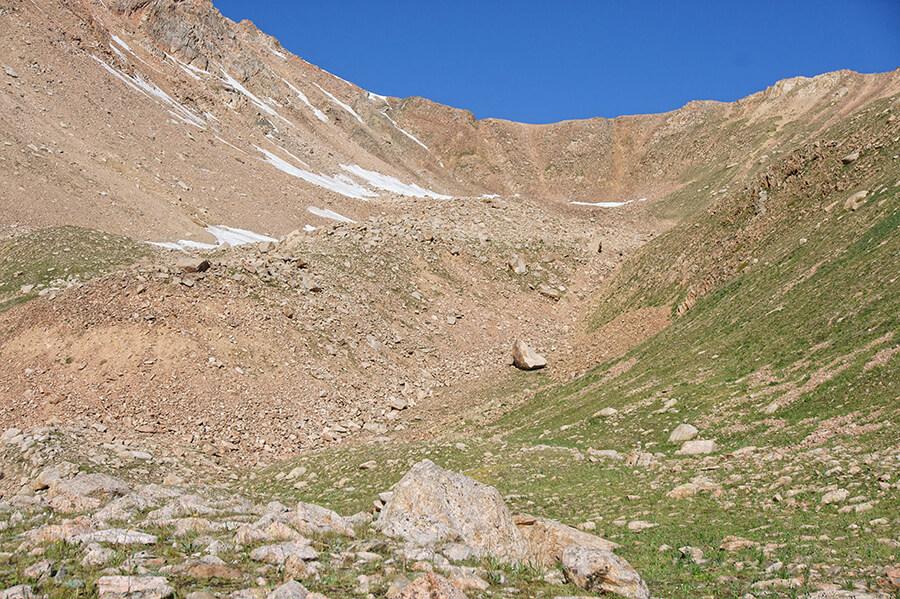 перевал Титова 3630 м