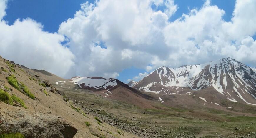ущелье Фабричное, перевал Каргалы Восточный