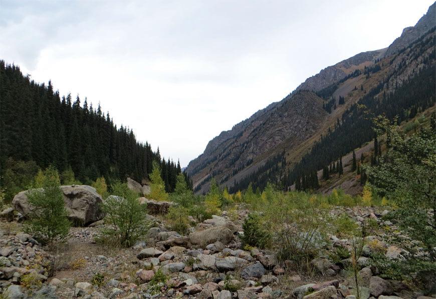 Ущелье Иссык