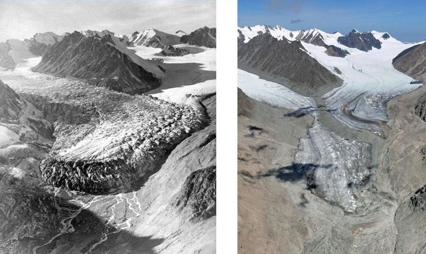 Пульсация ледника Богатырь
