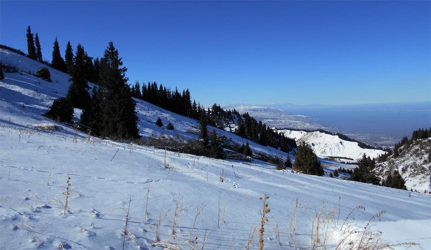 Снежное плато